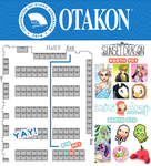 Otakon Map! 2014 by Flying-Fox