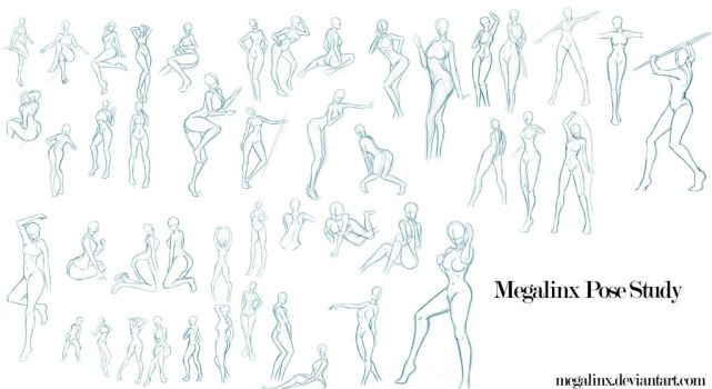 Megalinx Pose Study by MegaLinx