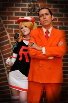 AZ 2011: Team Rocket by melvinopolis