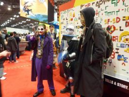 Joker,Freeze,Scarecrow by ruggala08