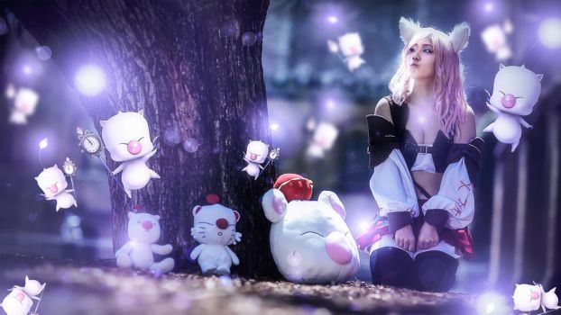 Miqo'te Lightning FF13 LR part2 by mayuyu0405