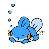 Mudkip by dcheeky-angel