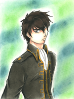 Hijikata for Aubs by LorvicMeow