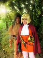 Farnese and Casca by Bara-Rose