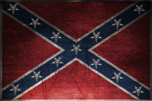 Confederate Flag by zimdrake