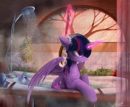 Time to Wash (Animated) by equumamici