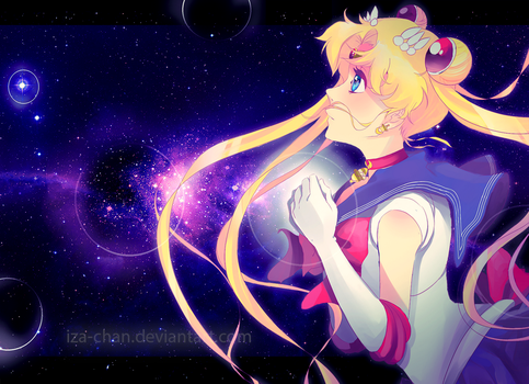 SMC: Sailor Moon by iza-chan