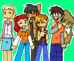 Another Groupshot by Sixala