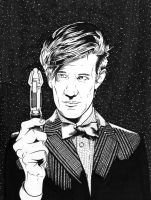 11th Doctor by DMThompson