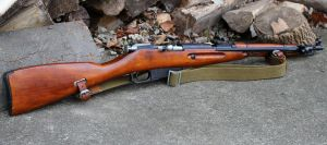 Russian M44 Mosin Nagant Carbine by PLutonius