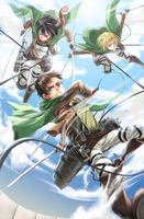 Attack on Titan by Lo-wah
