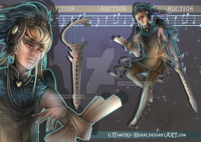 (CLOSED) - Musical Angel Adopt Auction #022 by Timothy-Henri