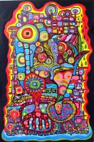 Psychedelic city by tanin2011