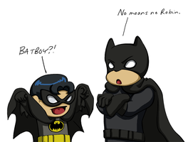 Batman - Making the cut by tacokisses