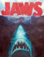 Jaws Poster Hand Drawn by BennytheBeast