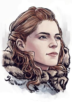 Ygritte by SergChayote