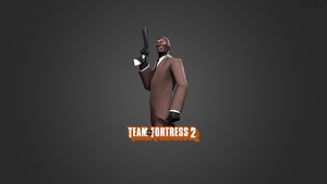 Team Fortress 2 Wallpaper Spy by JS92