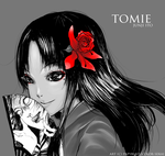 Tomie by color-sekai