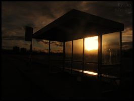 The Old Bus Stop by Kyujiko