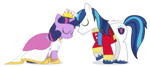 The Royal Canterlot Siblings by dm29