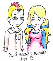 David Vincent and maddie by AiriAvianna