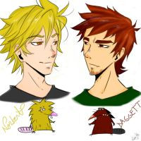 Angry Boys xD by labrujabeatrice