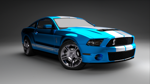 Ford Mustang Shelby GT 500 (2011) by pierre-allard