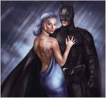 Batman and the lady by CocaineJia