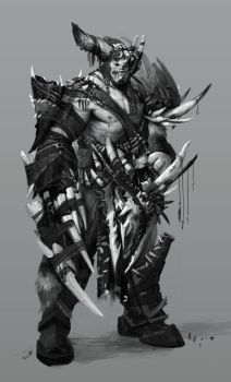 Monstrosity - Kain by Robotpencil