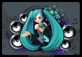 Miku Hatsune by ImperialBlue