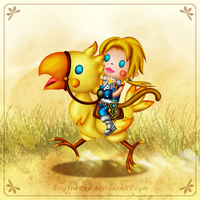 Chocobo Ride! by EllyTheGee