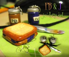 PB + J set by ChocolateFrizz89
