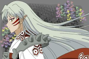Sesshomaru-sama by FirstDarkAngel2001