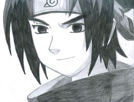 sasuke by laurax