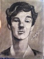 Sherlock sketch by Haeddre