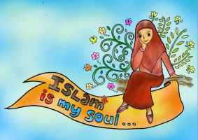 Islam is My Soul by luzeon