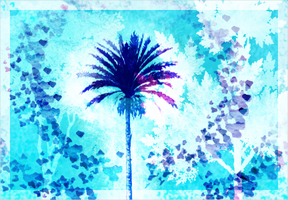 Palm Tree Paradise by Bowser81889