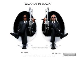 Wizards in Black - Snapey by snapefanclub