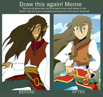 Before and After Meme by Songoanda