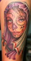 Day of the Dead Girl by Phedre1985