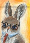 Nerdy Is The New Cute - Bunny by sobeyondthis