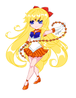 Chibi Sailor Venus by Kazeoseki