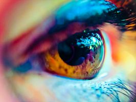 Eye Close-Up by DigitalSys