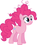 Pinkie Pie - Bad Hair Day by zomgmad