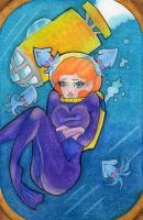 Scuba Squid Love by MissContrary013