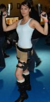 Lara Croft Tomb Raider Cosplay at MCM by IXISerenityIXI