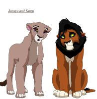 Lion Breeding Couple by chook-four