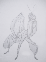 Day 13: Insect Girl by Faeyne-Silvercloud