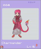 Charmander Female by Nightwind-Dragon