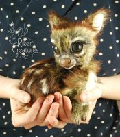 Fern the Teacup Fawn by RikerCreatures